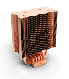 Радиатор C.P.U. Ccr29A с медной трубой жары с утверждениями