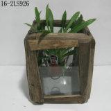 Diseño clásico Vintage de sembradoras de Flor de madera