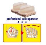Nuevo separador de Hallux Valgus ortesis maíz corrector de los dedos del pie dedo gordo del pie el manguito Separador Dedos Ajustador de juanete cuidado pies