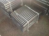 Alta placa de la quijada de acero de manganeso para la rafadora