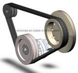 Cinghia di sincronizzazione di gomma elettrica della cinghia di azionamento del motorino 5m-535-15