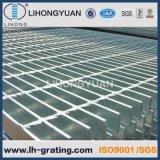 Suelo de acero galvanizado que ralla para la plataforma de la estructura de acero