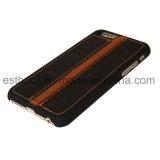 Cas de téléphone mobile de cuir de couche supérieure pour l'iPhone 6 7