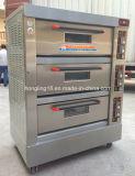 prix d'usine 3 Pont 6 plateaux de chauffage à infrarouge lointain Four électrique depuis 1979