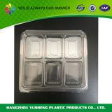 Одноразовые прозрачные упаковки продуктов питания в салоне контейнер оптового продавца