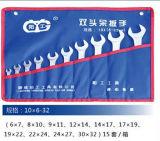 10PCS 632mm Reeks van de Moersleutel van de Hulpmiddelen van de Hand de Metrische