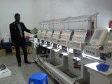 Máquina multi industrial del bordado del ordenador de la función de Wonyo de 6 colores de las pistas 12