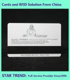 磁気ストライプ(ISO 7811)が付いているPVCから成っているクリスマスのプレゼントのカード