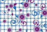 Nuevo diseño de PVC transparente patrón impreso Mantel (TT00284)