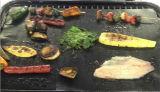 Couvre-tapis de BBQ de teflon de catégorie comestible