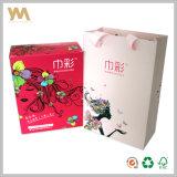 Cadre de empaquetage de carton coloré avec l'impression personnalisée