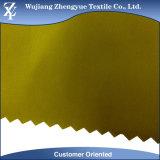 75D 100% Met een laag bedekte Stof van het Geheugen van de Vorm van de Polyester Waterdichte Imitatie voor het Gebruik van het Jasje