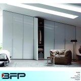 Weiß-freie stehende Garderoben-Wandschrank-Schlafzimmer-Möbel
