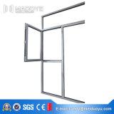 De schuine stand-Draai van het Profiel van het Aluminium van het Bouwmateriaal Venster