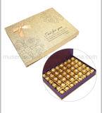 Rígido plegable de almacenamiento de Chocolate Caja de regalo con cinta de opciones