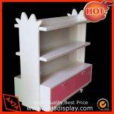 Góndola de madera Mostrar Tienda Montaje en Rack con estantes