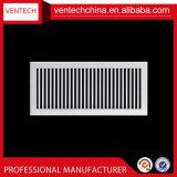 Системы отопления алюминиевый настенный возвращение одного отклонение воздуха Решетки вентиляционные решетки