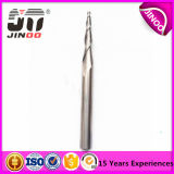 2 Flute Tungsten Sólidos Nose Carbide Taper Bola End Moinho