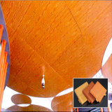 Panneau en bois Individu-Conçu d'aluminium de couleur de matériaux décoratifs intérieurs