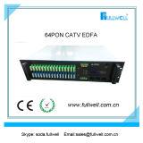 64トリプルプレイネットワークのためのポートのGepon CATV Wdm EDFAコンバイナー