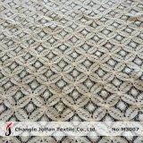 Tecido De Riginho De Crochet De Algodão Para Vestuário (M3007)