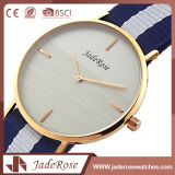 ステンレス鋼のスマートな腕時計のMen&Ladiesの水晶ナイロン腕時計