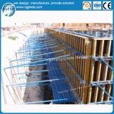建築材料の合板のコンクリートの壁の型枠システム