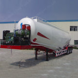 3axle 70cbm 대량 시멘트 또는 분말 유조 트럭 트레일러