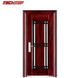 Puerta exterior del metal barato de la seguridad de TPS-032A
