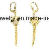 De Juwelen Goud Geplateerde &#160 van de manier; Eardrop van het roestvrij staal Oorring (ERS7003)