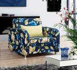 Cadeira de Sofabed da tela com todo o frame do metal para o hotel Home
