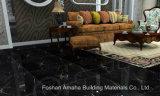 Negro esmaltado pulido luz completa del azulejo de suelo de la porcelana de la carrocería del material de construcción del azulejo de Foshan (BMG18P)