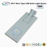 2017 nuevo tipo luz solar toda junta 15W del jardín del LED