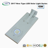 2018新型オールインワン太陽LEDの庭ライト15W