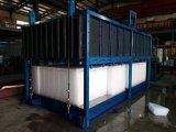 10t máquina de fazer blocos de gelo comercial clara máquina de bloco de gelo