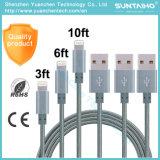 Línea de nylon al por mayor cable de datos de la sinc. del USB para iPhone6 6s 7
