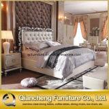 현대 PU 침대 룸 가구 침실 세트 금속 프레임 침대