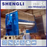 Mezclador de cinta con dispositivo de pulverización