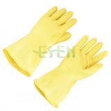 Перчатки чистки домочадца/естественные перчатки латекса, предохранение обеих рук
