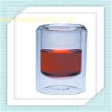 Кружка чашки двойной стены боросиликата стеклянная