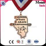 Medaglie superiori del Taekwondo del rame di figura del programma della contea