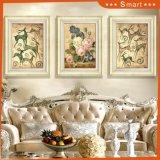 Los cuatro paneles enmarcaron la pintura al óleo para el arte casero de la pared de la decoración