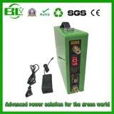 Cicli iniziali di riserva domestici/esterni dell'alta qualità del pacchetto della batteria di litio di 5V/12V 60ah