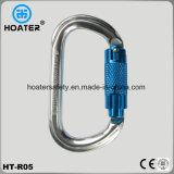 Bloqueo de aluminio Carabiner para los acolladores de la seguridad
