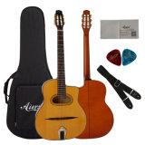 Guitarra grandioso de Bouche do grande jazz aciganado de Maccaferri do projeto