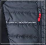 새로운 옥외 겨울 Softshell Mens 검정 패딩 재킷