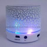 Haut-parleur sans fil stéréo de Bluetooth d'éclairage LED avec le logo estampé (572)