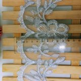 Neues Breiten-Stickerei-Polyester-Zutat-Fantasie-Nylon-umwickelnde Guipurespitze-Spitze des Entwurfs-Fabrik-Aktien-Großverkauf-10cm für Kleider u. Hauptgewebe u. Vorhänge