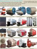 Chaudières à vapeur allumées par boulette en bois élevée brûlante de biomasse de rendement thermique de chambre de tailles importantes