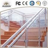Balustrade fiable d'acier inoxydable de fournisseur de certificat de la CE avec l'expérience des modèles de projet